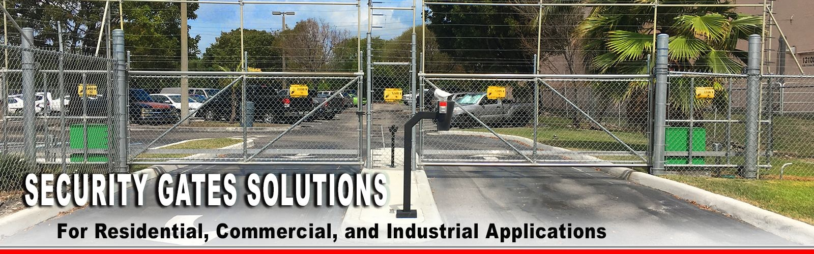 commercial industrial gate